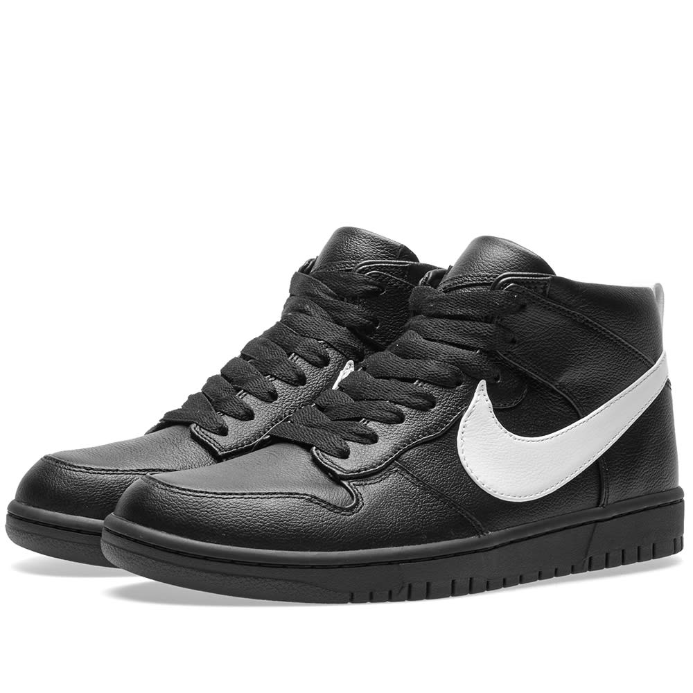 best authentic 5888c 46674 Nike x Riccardo Tisci Dunk Lux Chukka Black   White   END.