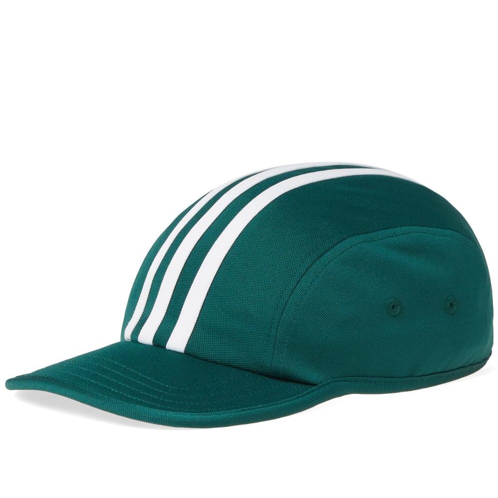 Adidas Originals Adidas Stripes 4 Panel Cap In Green  4dc954f9b8d