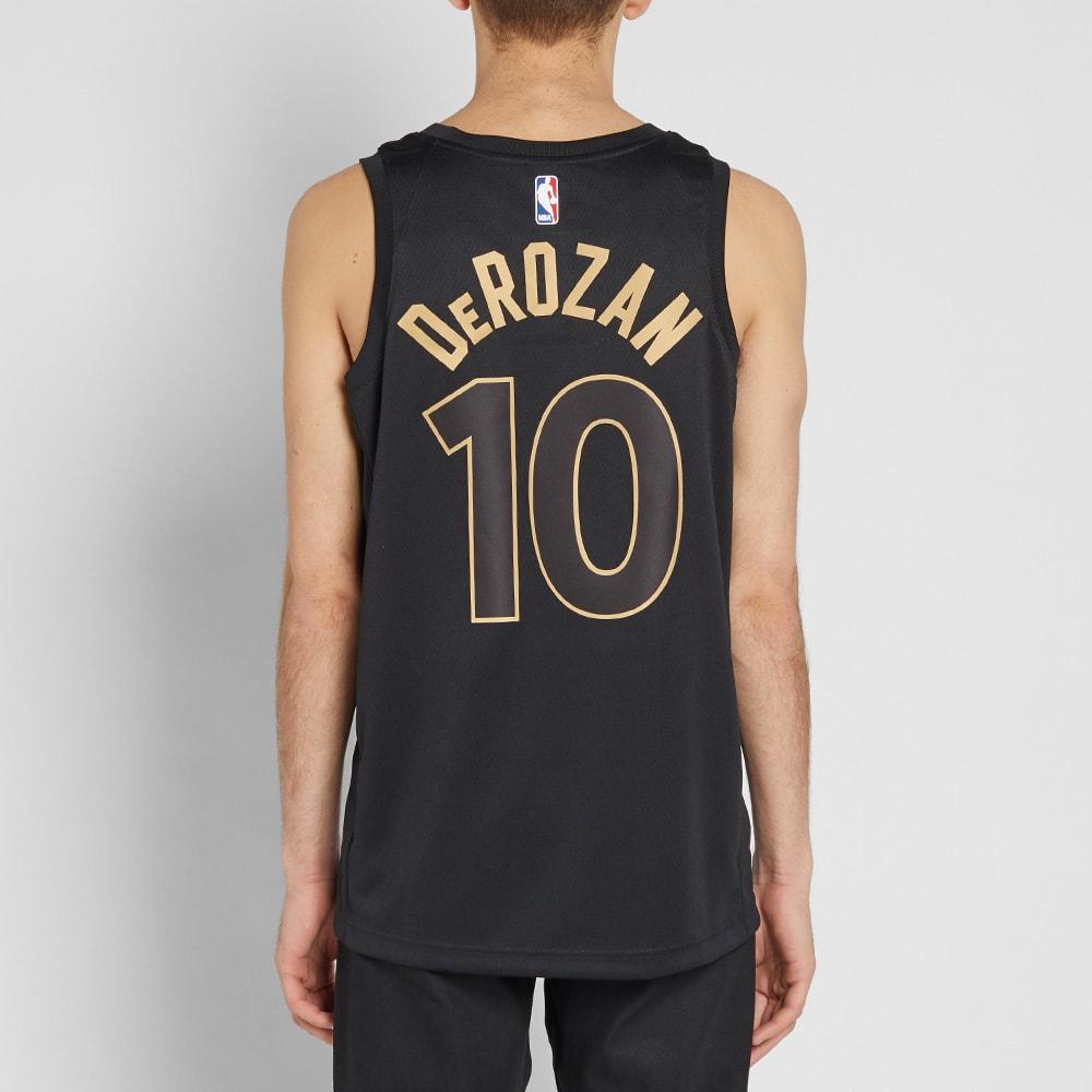 d271bf43bbf3 Nike Demar Derozan City Edition Swingman Black