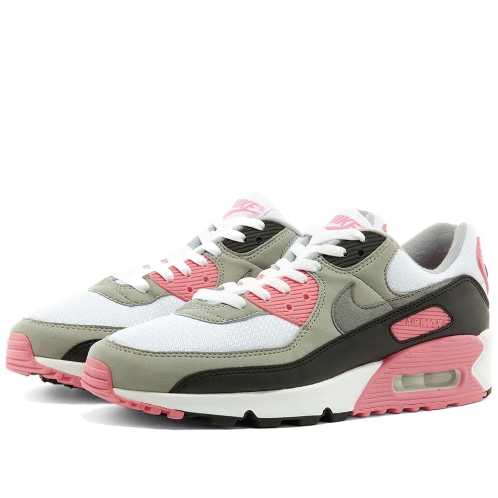 Nike Air Max 90 W White, Grey, Rose