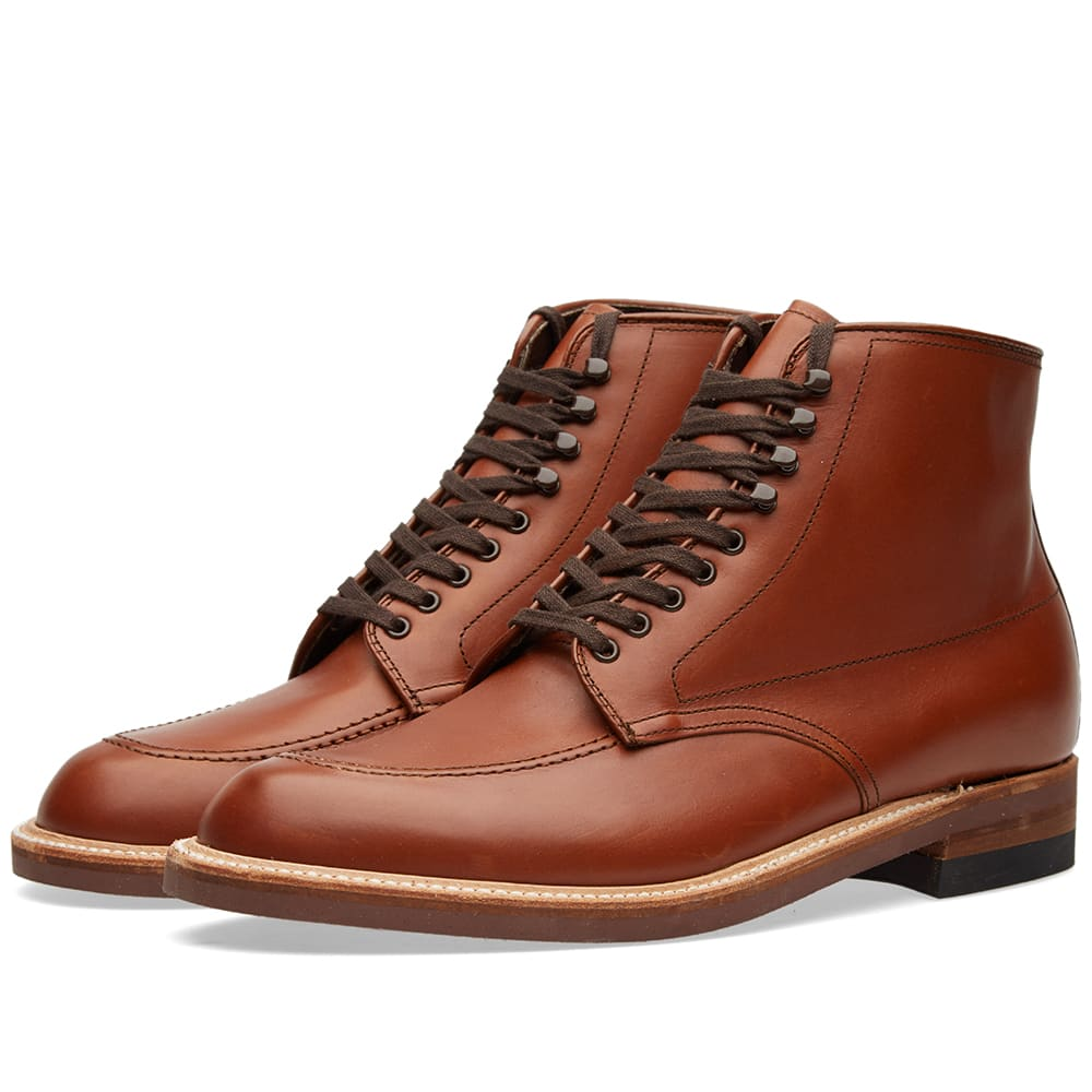 Alden Indy Boot (Tan Calf Leather)