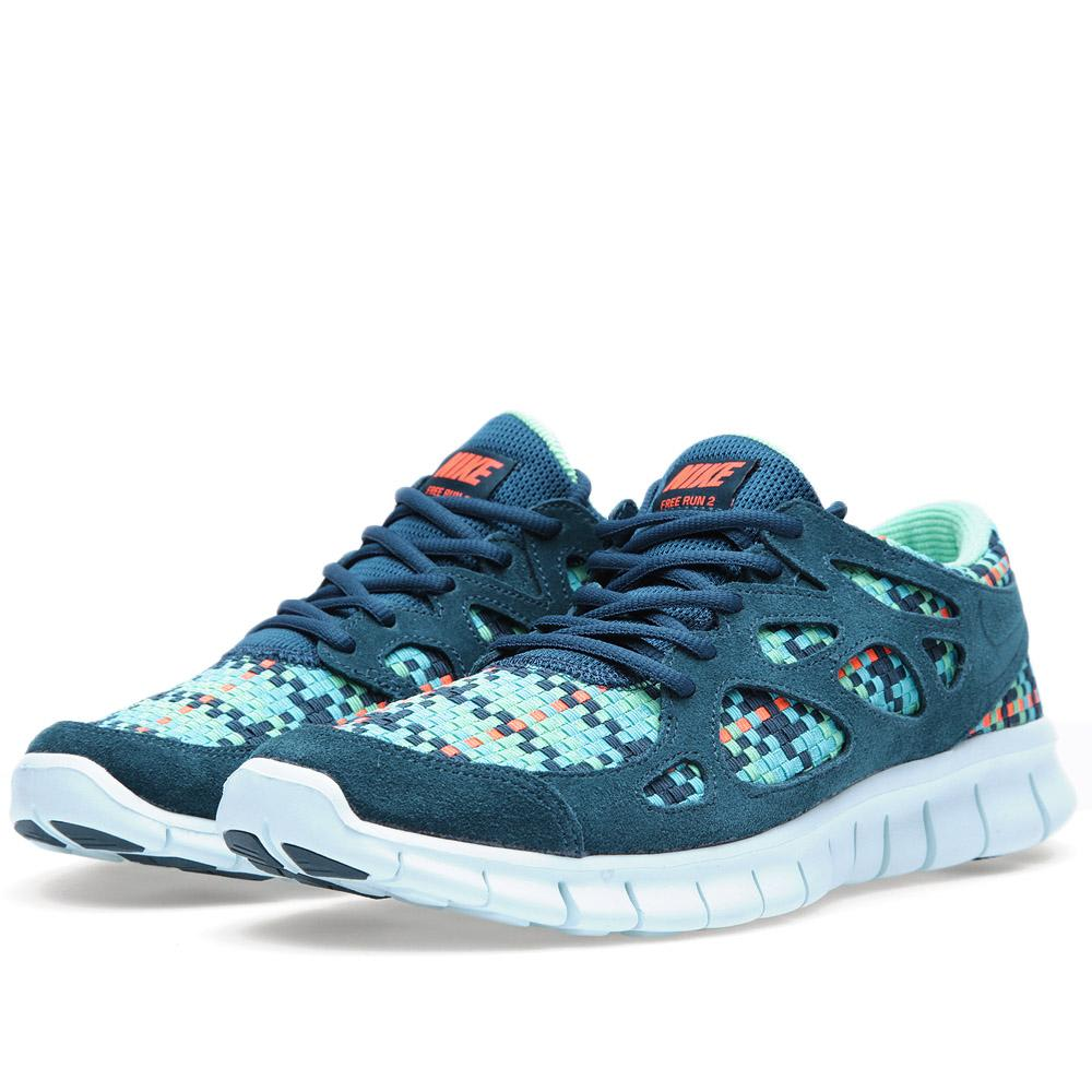 new product 23df2 f4bf3 Nike Free Run+ 2 Woven. Sport Turquoise   END.
