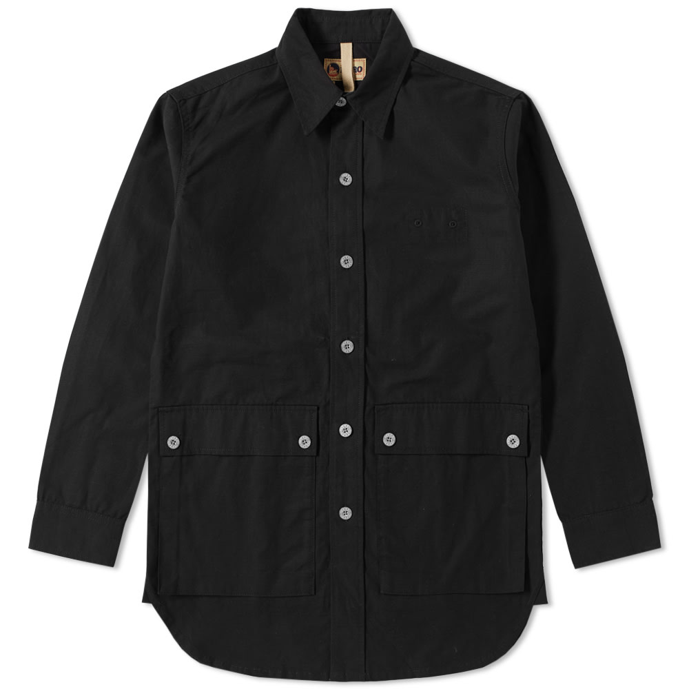 NIGEL CABOURN X LYBRO MOUNTAIN DIVISION SHIRT JACKET