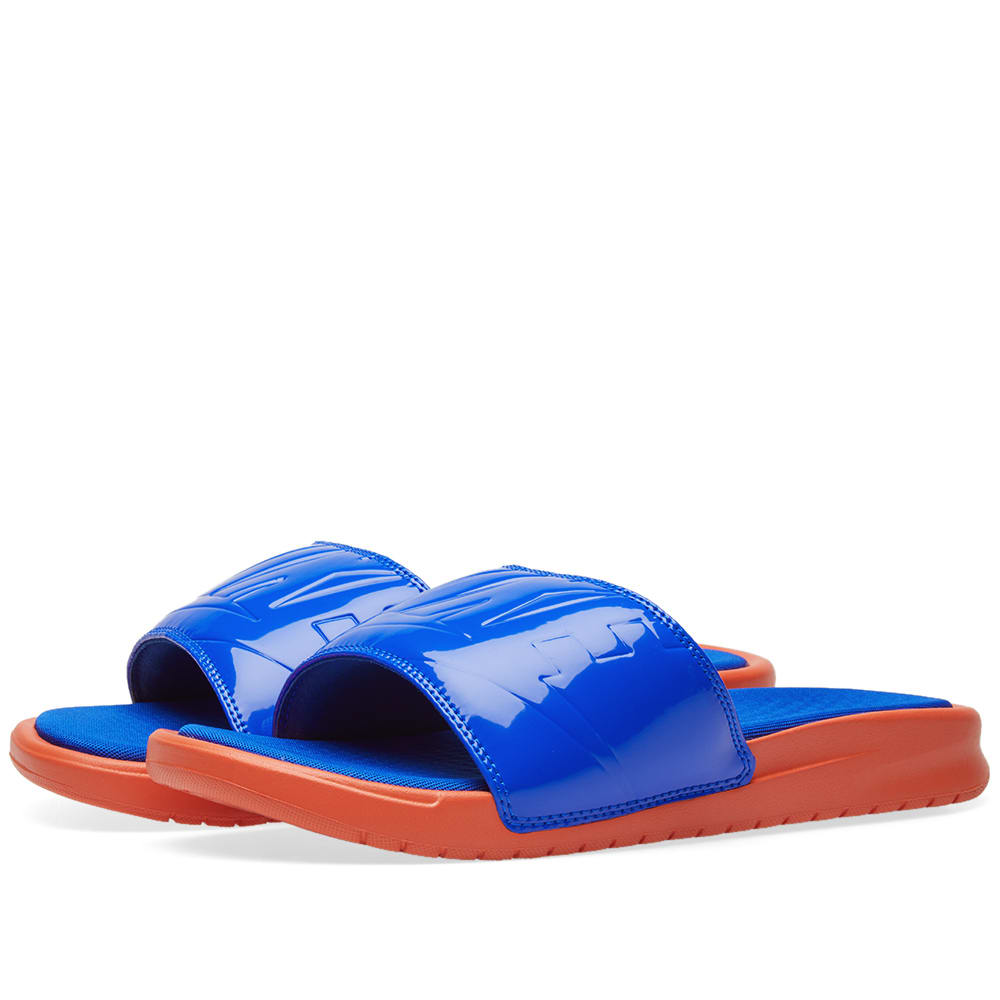 a35279a10 Nike Benassi JDI Ultra Lux W Vintage Coral   Racer Blue