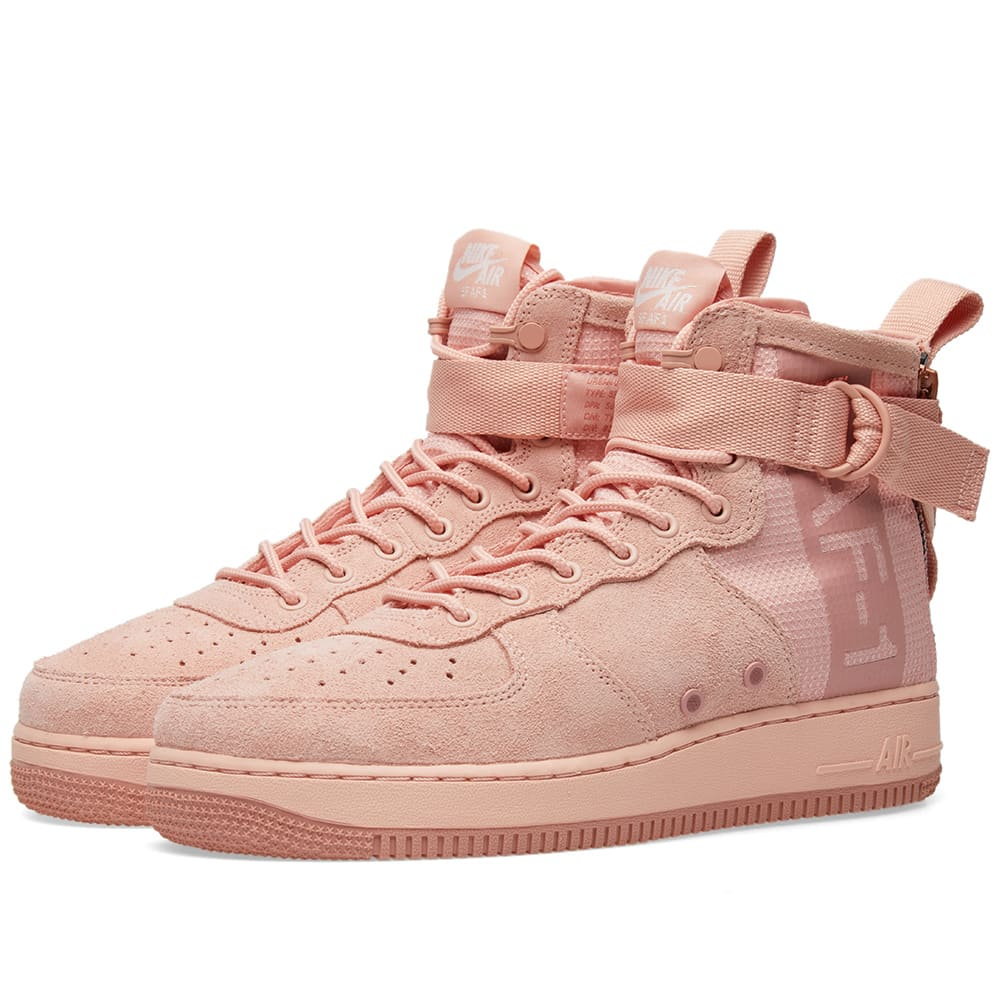 énorme réduction aa4c8 1a9cd Nike SF Air Force 1 Mid Suede