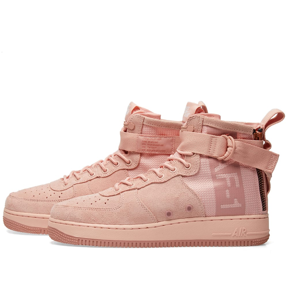 huge discount e76a5 c0d4c Nike SF Air Force 1 Mid Suede