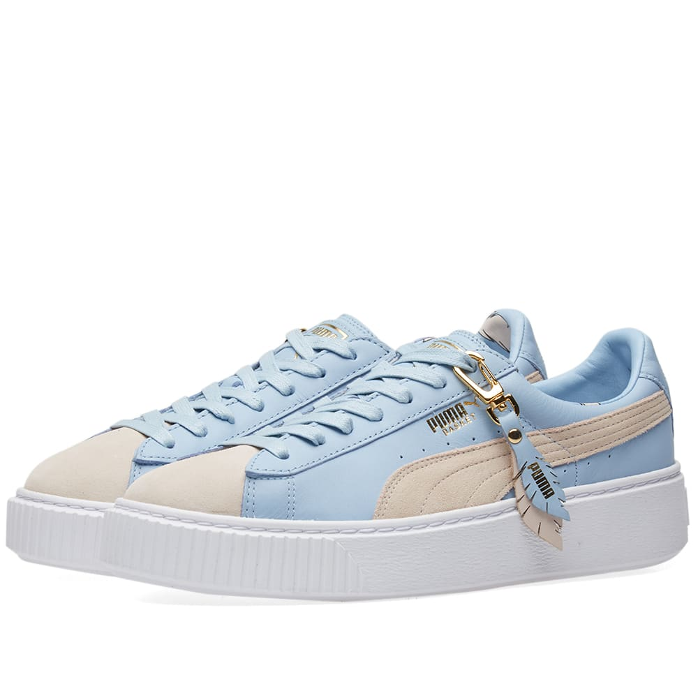 new product 3fb30 3672c Puma Basket Platform Coachella W