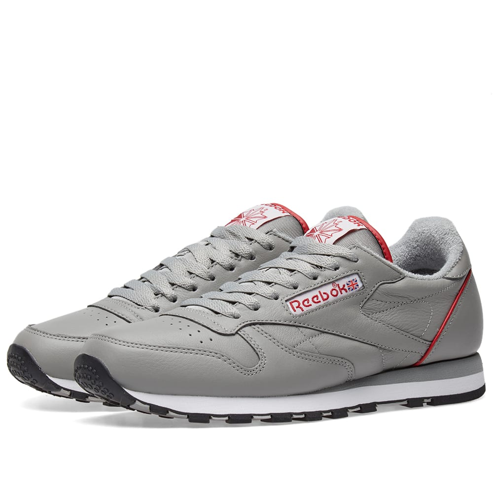 1ab8898ce9a1d Reebok Classic Leather Archive Pack Grey