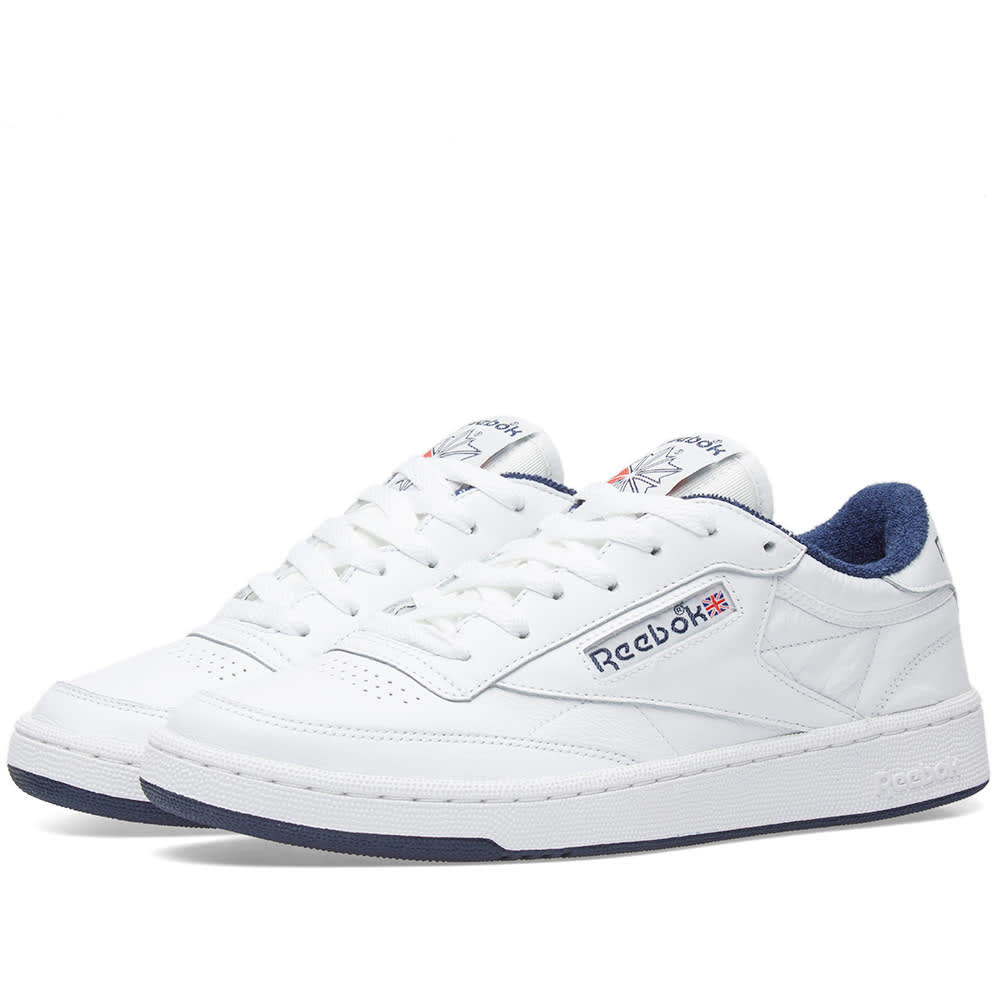 dfe19b5dc1b4e Reebok Club C 85 Archive Pack White
