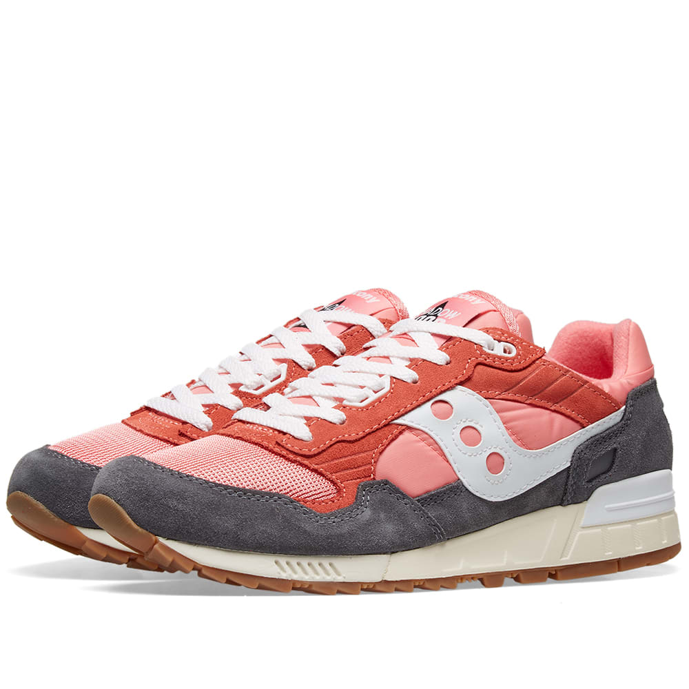 Saucony Men/'s Shadow 5000 Vintage Running Shoes S70404-12 PinkWhite Brand New