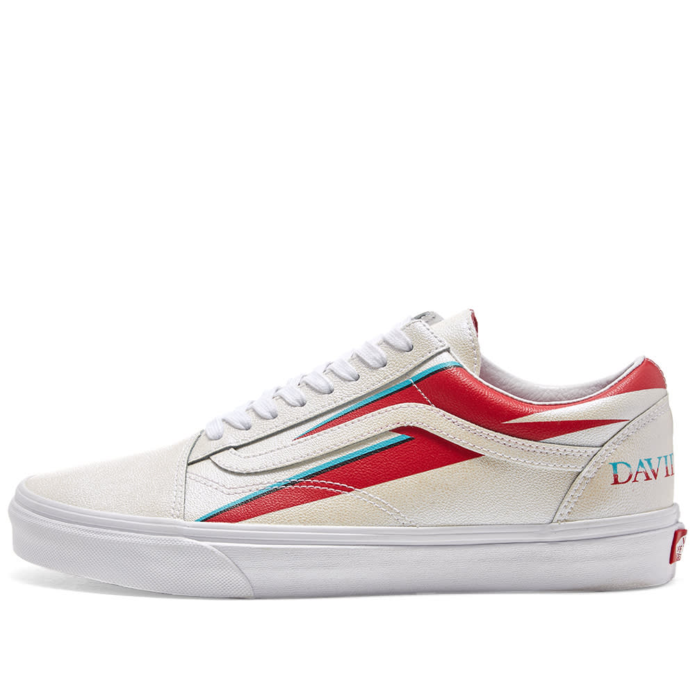 "Vans Old Skool David Bowie's legendary ""Aladdin Sane""Nike"