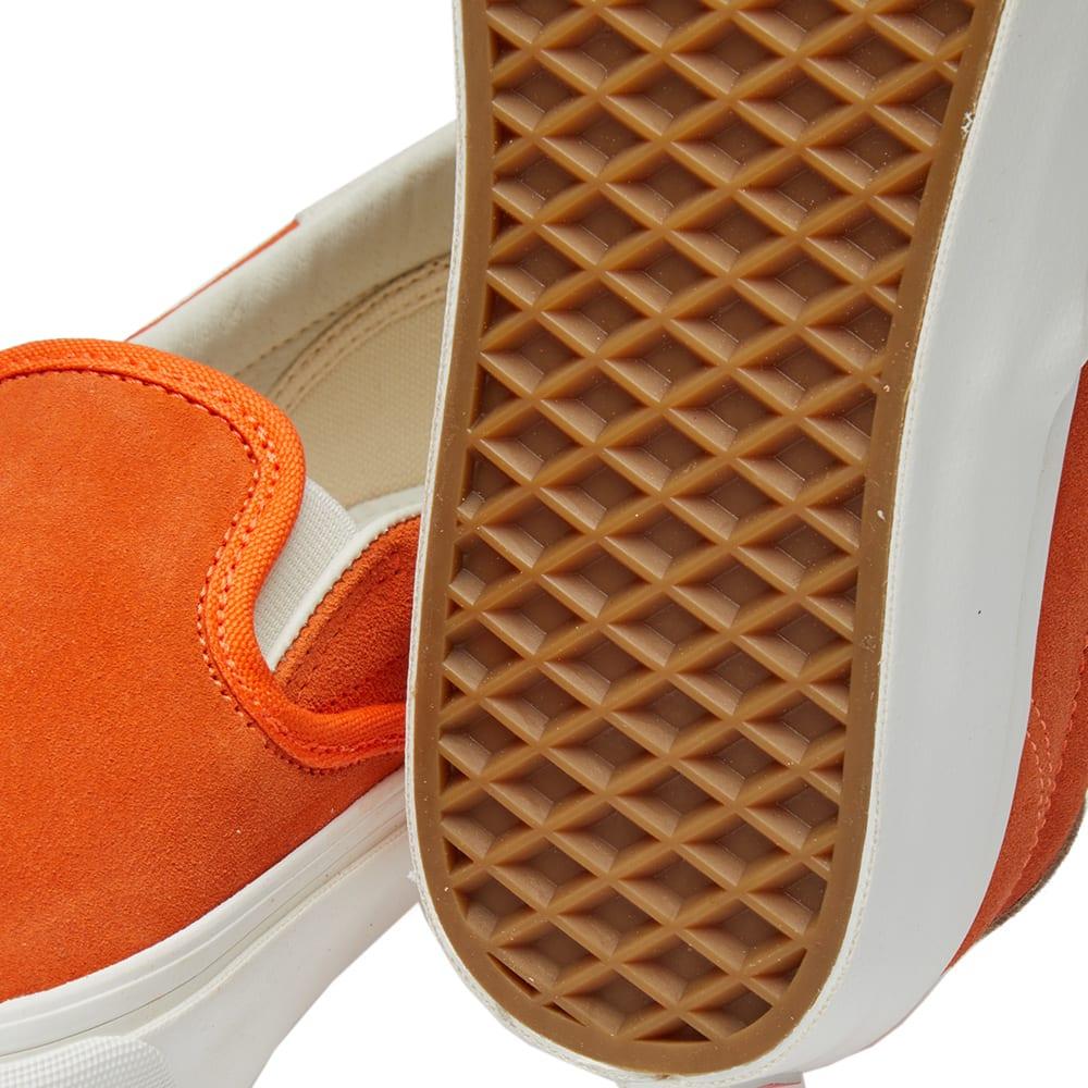 a067c3aee0 Vans Vault OG Slip On 59 LX Red Orange   Marshmallow