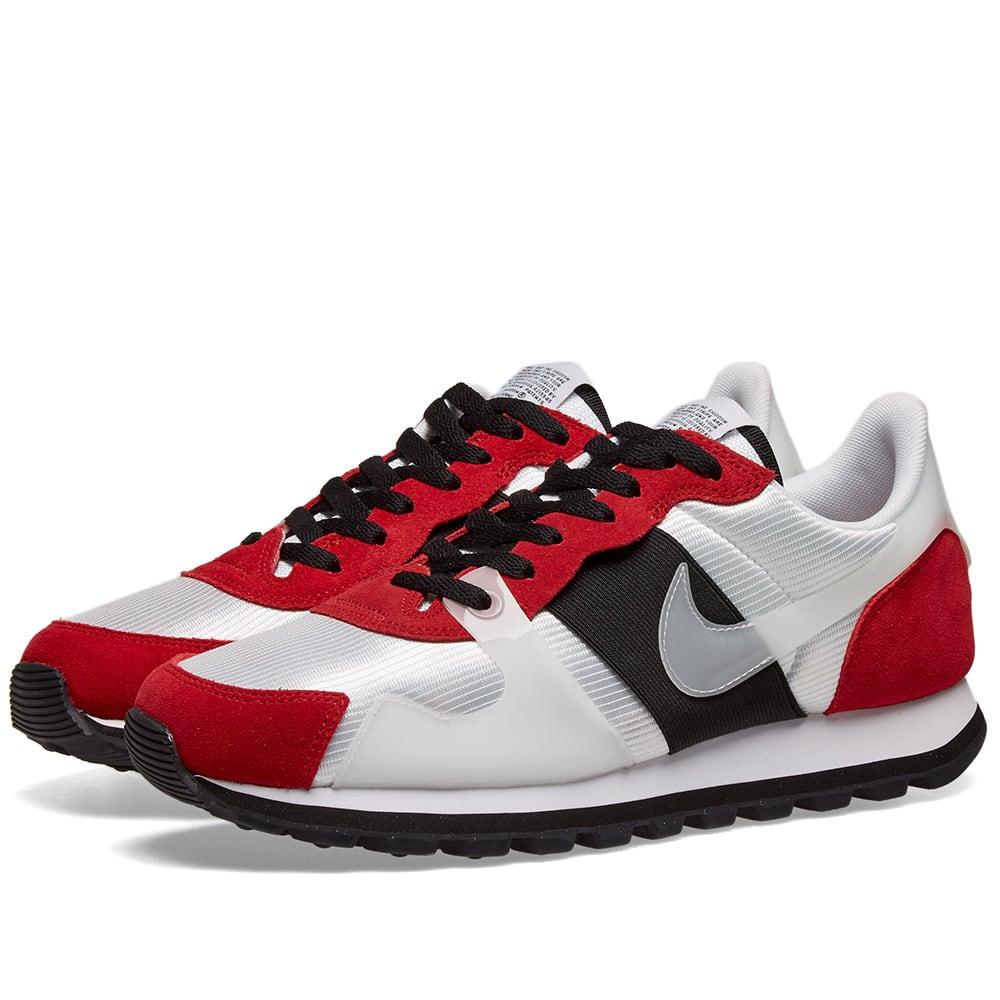 Nike V-Love O.X. White, Gym Red \u0026 Black
