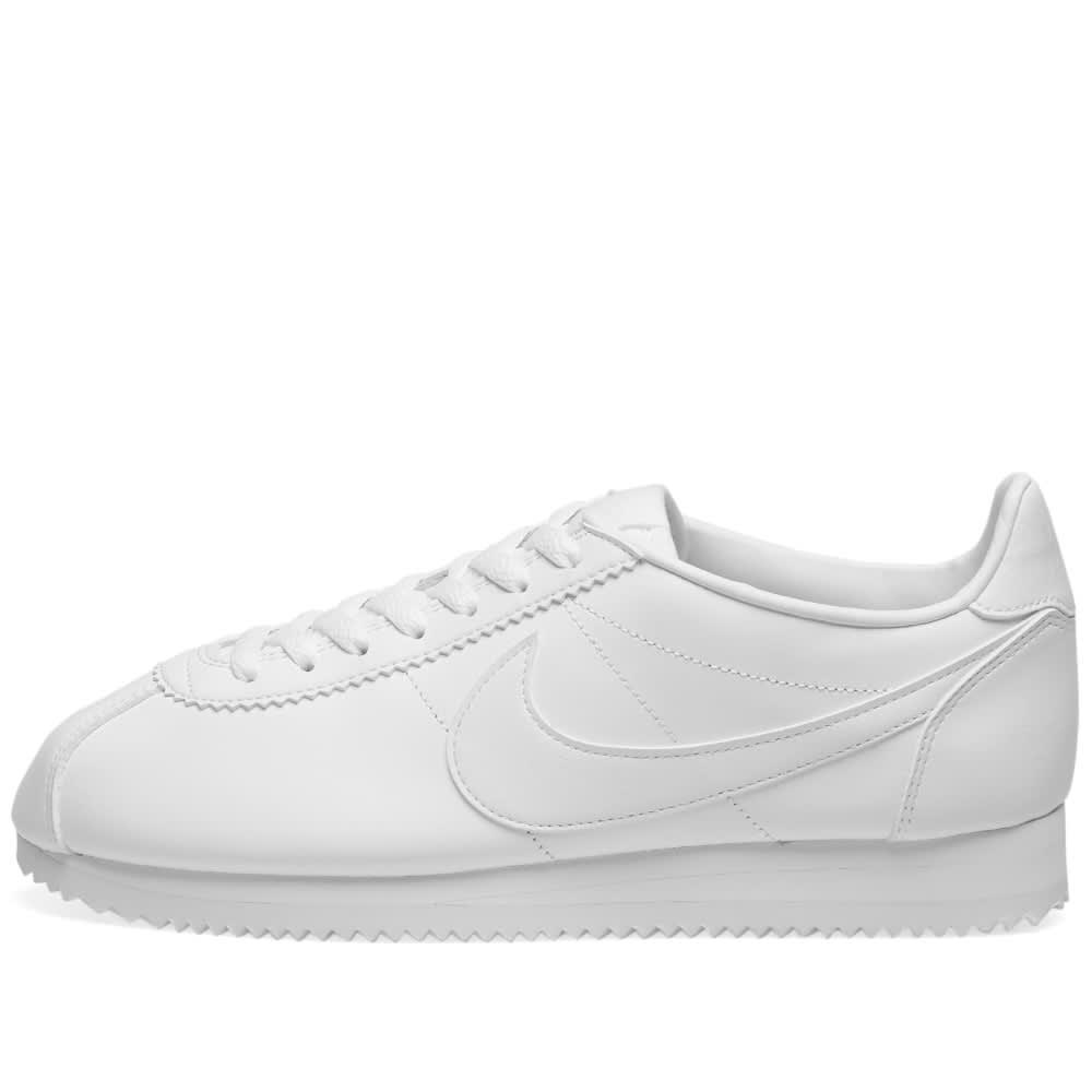 hot sale online fdf00 628f8 Nike W Classic Cortez Leather White   White   END.