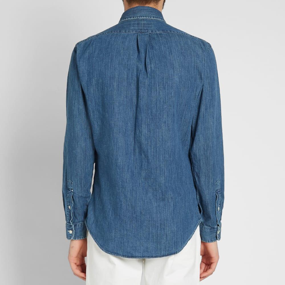 e7adc9ca Polo Ralph Lauren Slim Fit Button Down Denim Shirt
