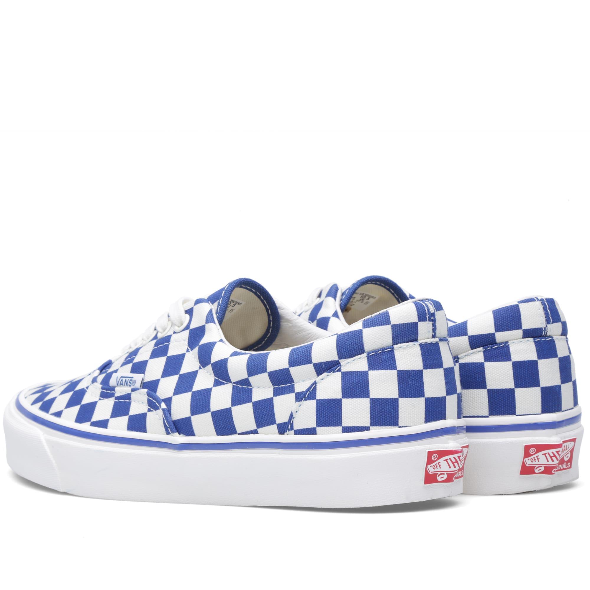 b32f08475a Vans Vault OG Era LX True Blue Checkerboard