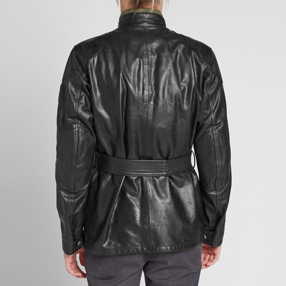 popular brand clear and distinctive super specials Belstaff Panther Leather Jacket