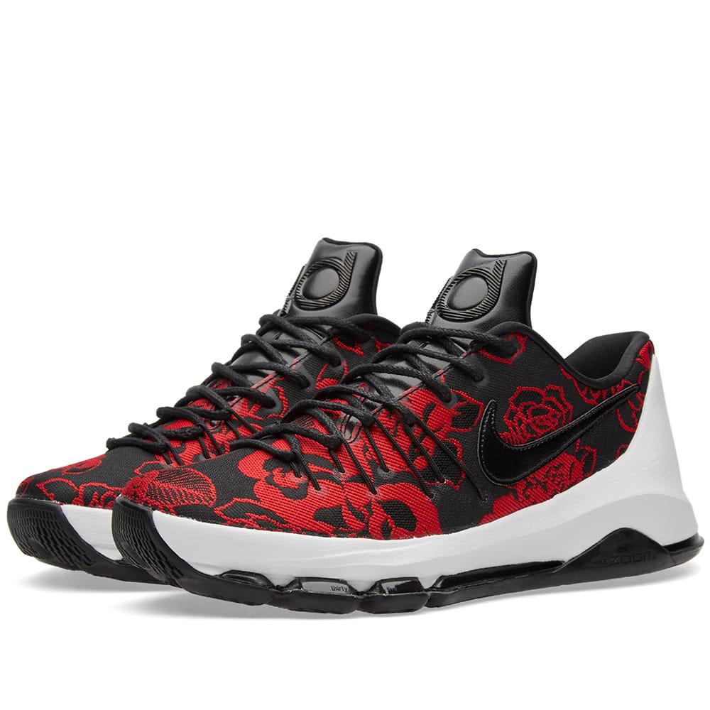e3212264e804 Nike KD 8 EXT Black   Gym Red