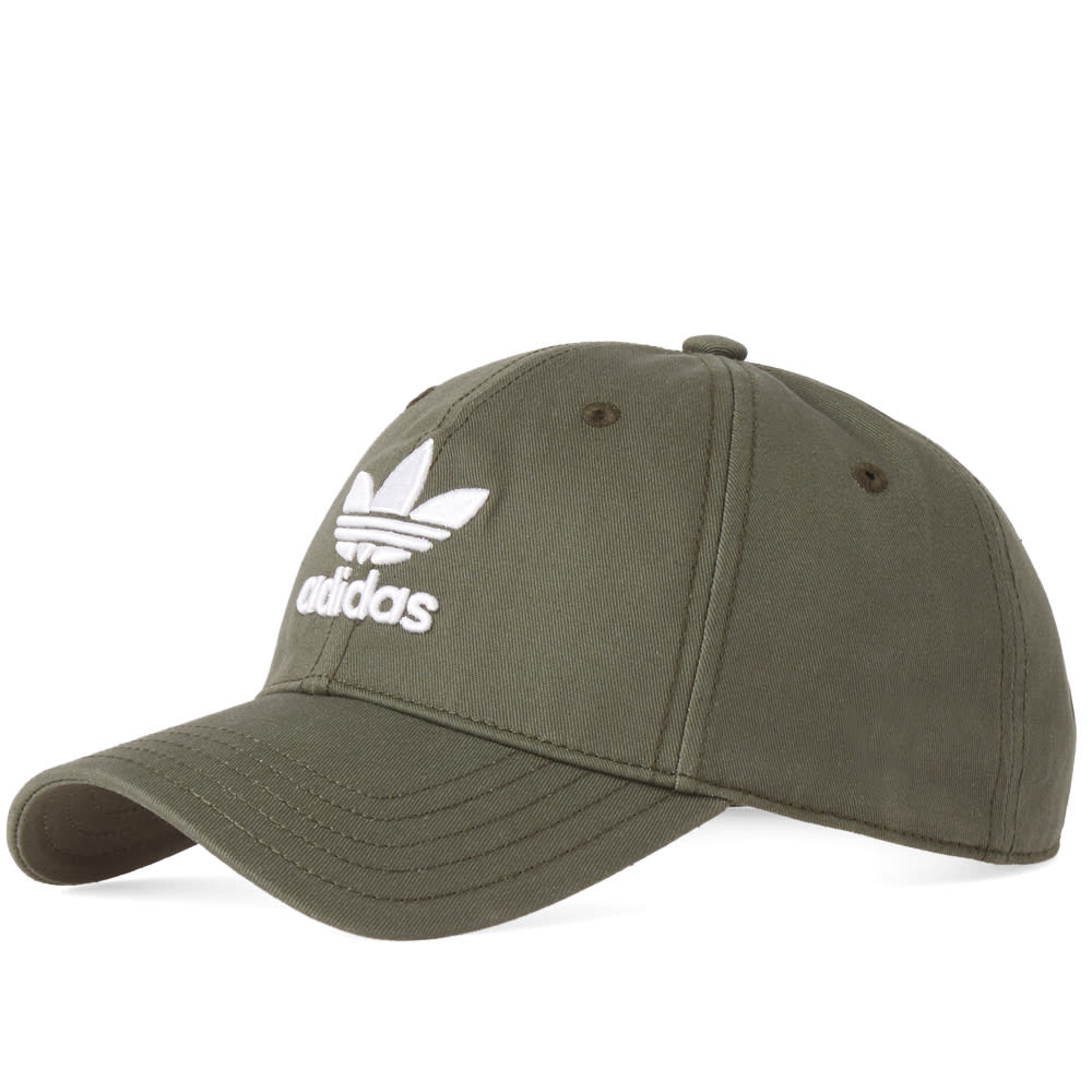 Adidas Originals Adidas Trefoil Cap In Green  1ff2fdb14375
