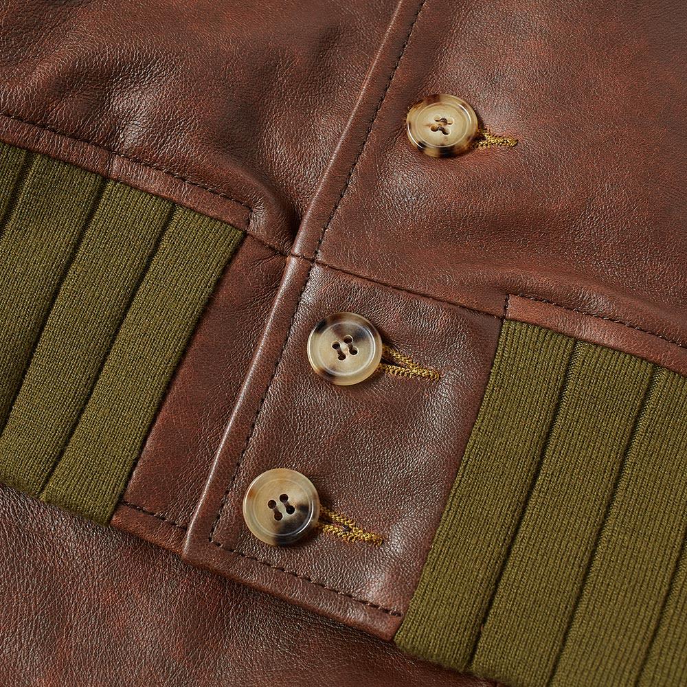 f3ca4bef4 Levi's Vintage Clothing Strauss Leather Jacket