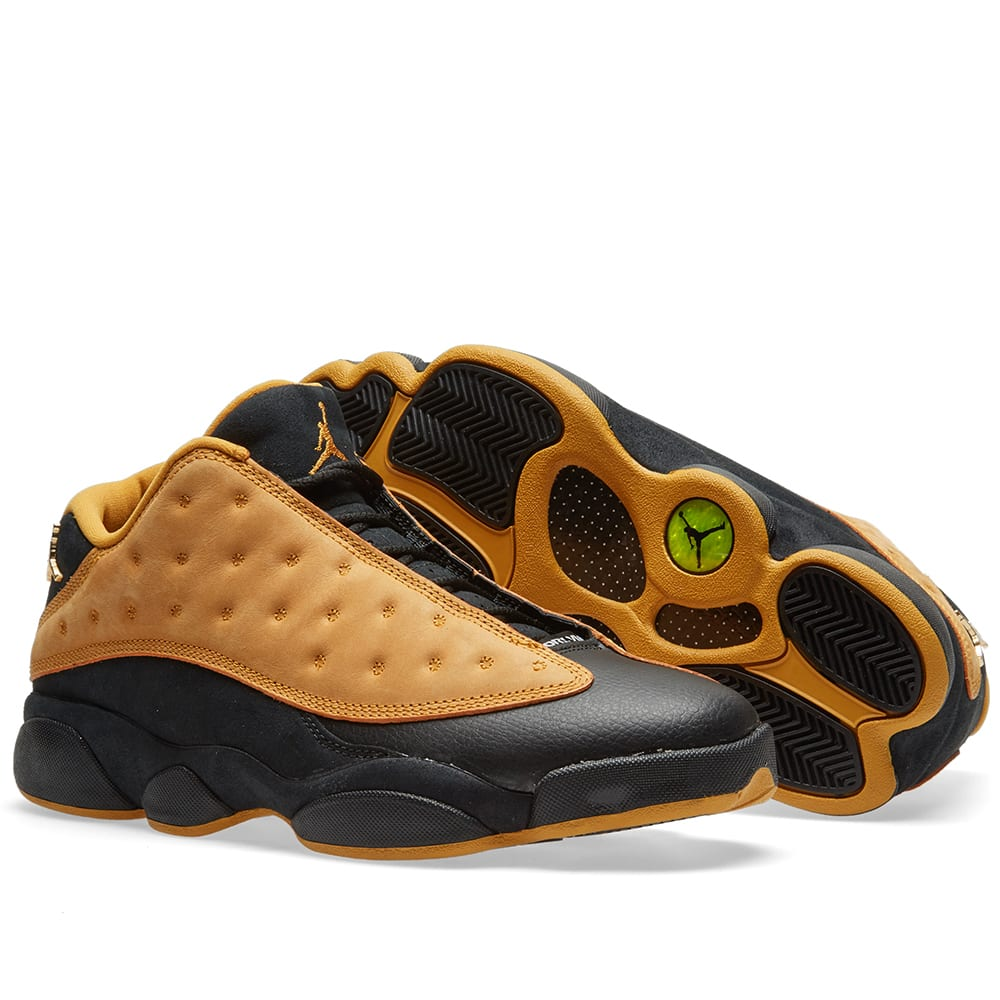 new style 2295d 103b4 Nike Air Jordan 13 Retro Low  Chutney . Black   Chutney