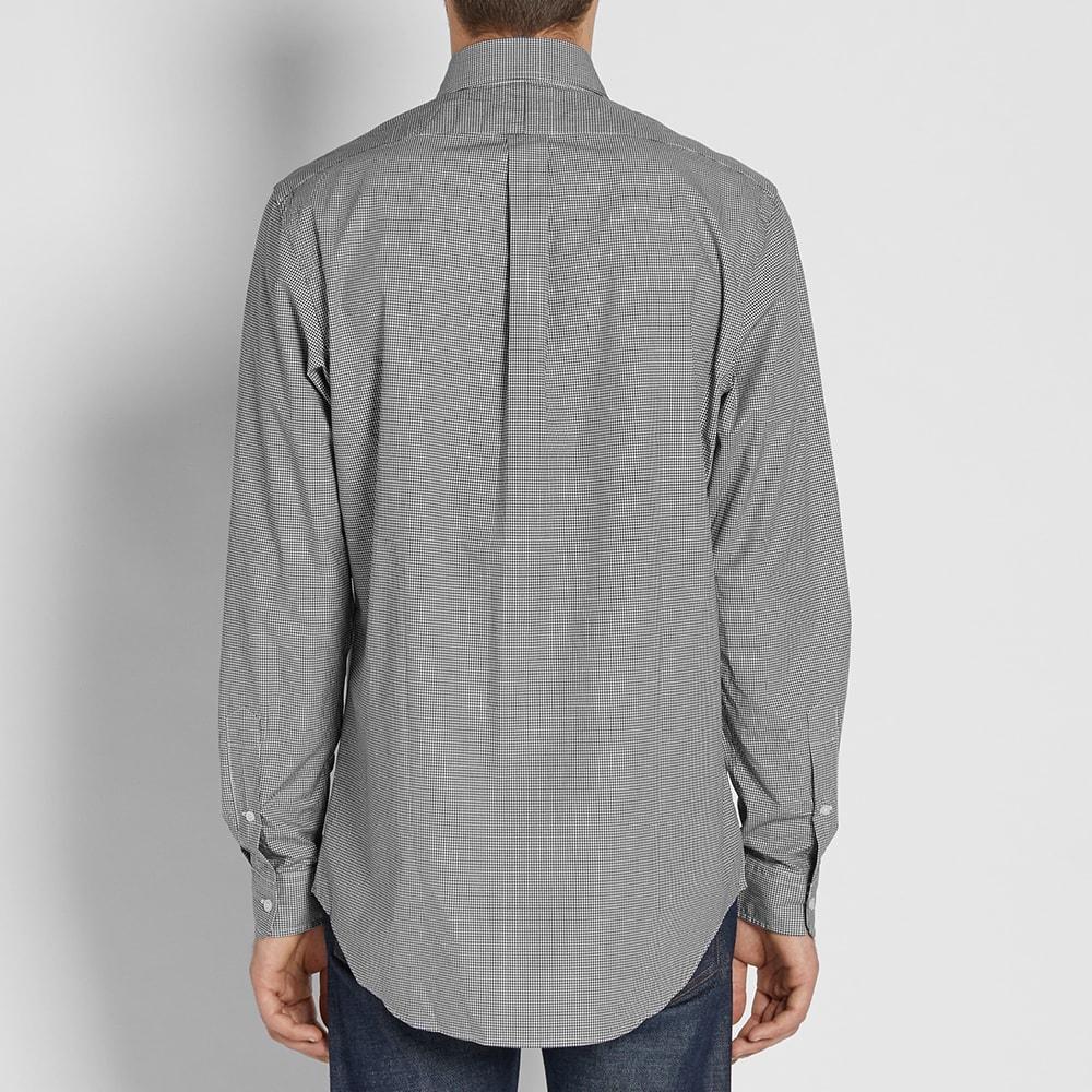 Polo ralph lauren custom fit button down gingham shirt for Custom fit dress shirts