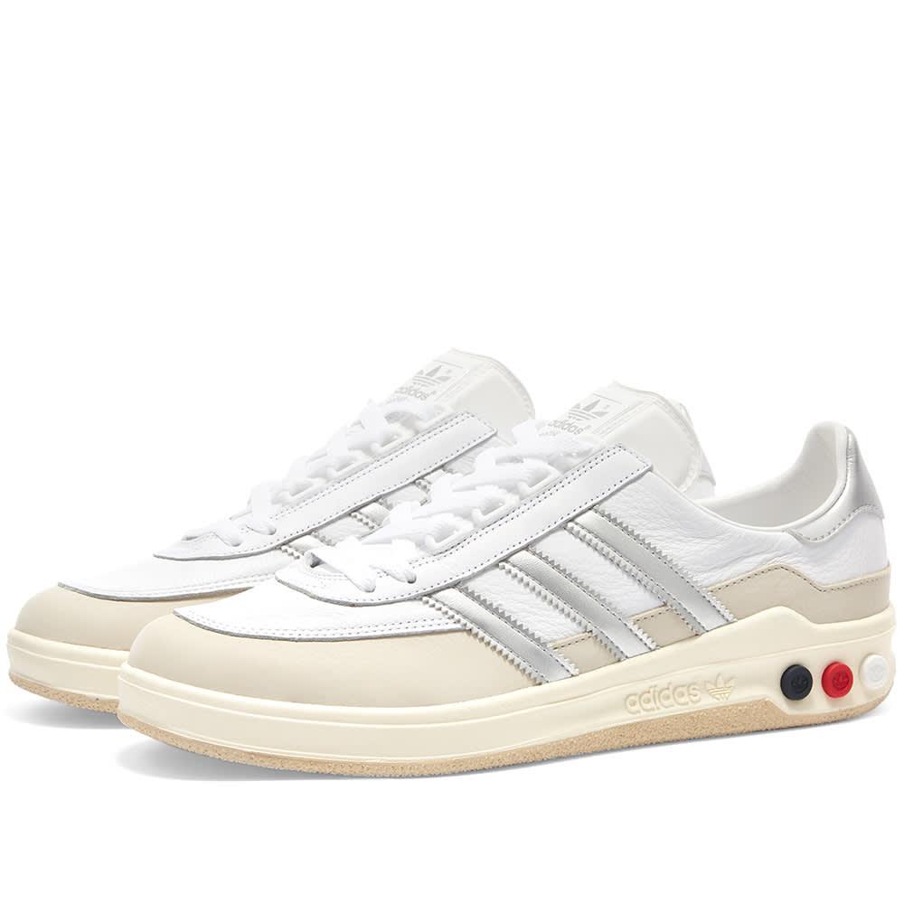 Adidas SPZL GLXY White \u0026 Silver | END.