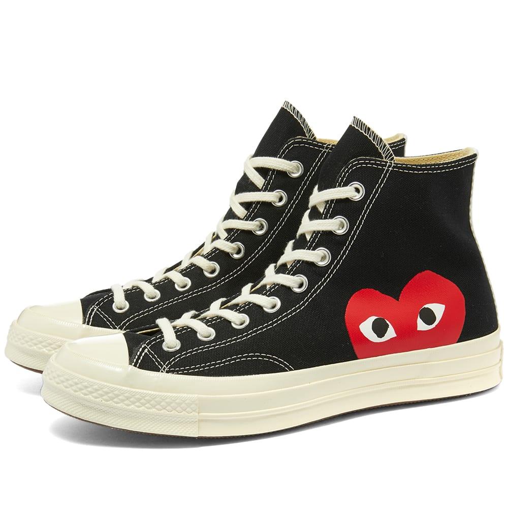 comme des garcons converse schoenen