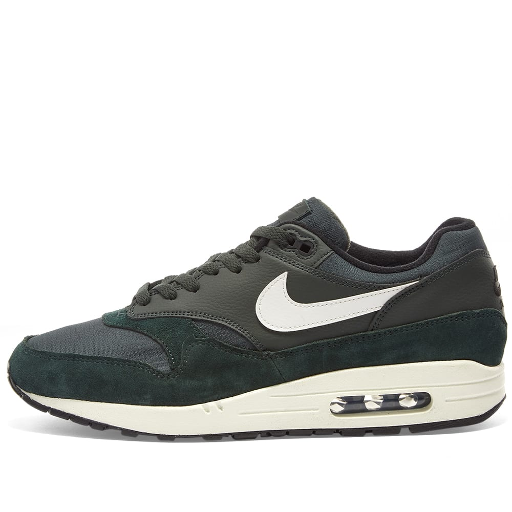 outlet store 74850 8e793 Nike Air Max 1 Outdoor Green, Sail   Black   END.
