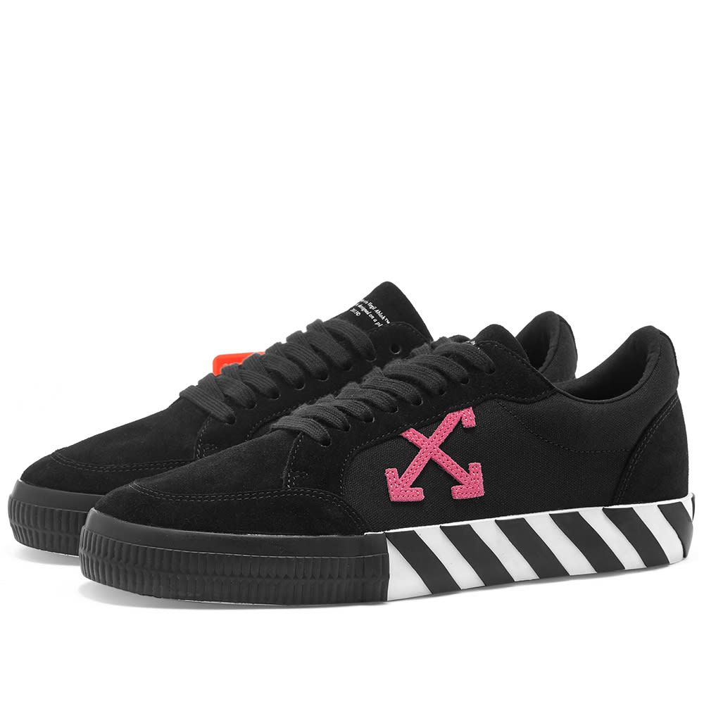 Off White Low Vulcanised Arrow Sneaker by Off White