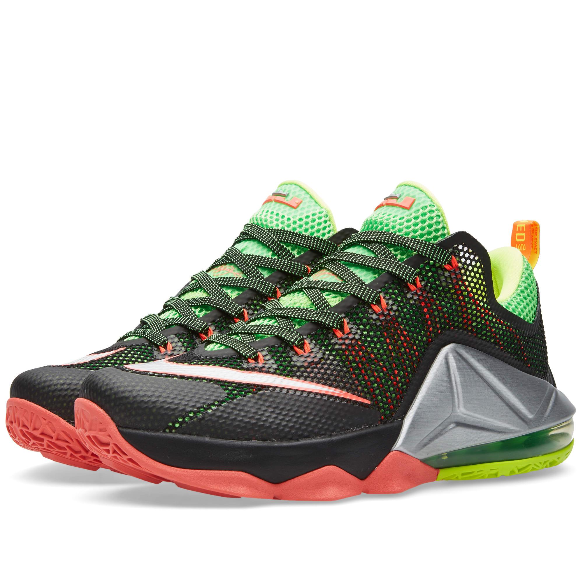 Nike Lebron XII Low Black \u0026 Metallic