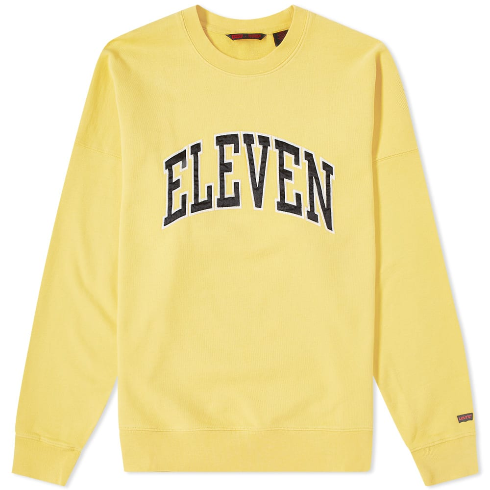 Collegiate Crew X Things Eleven Levi's Sweat Stranger wPX8nO0k