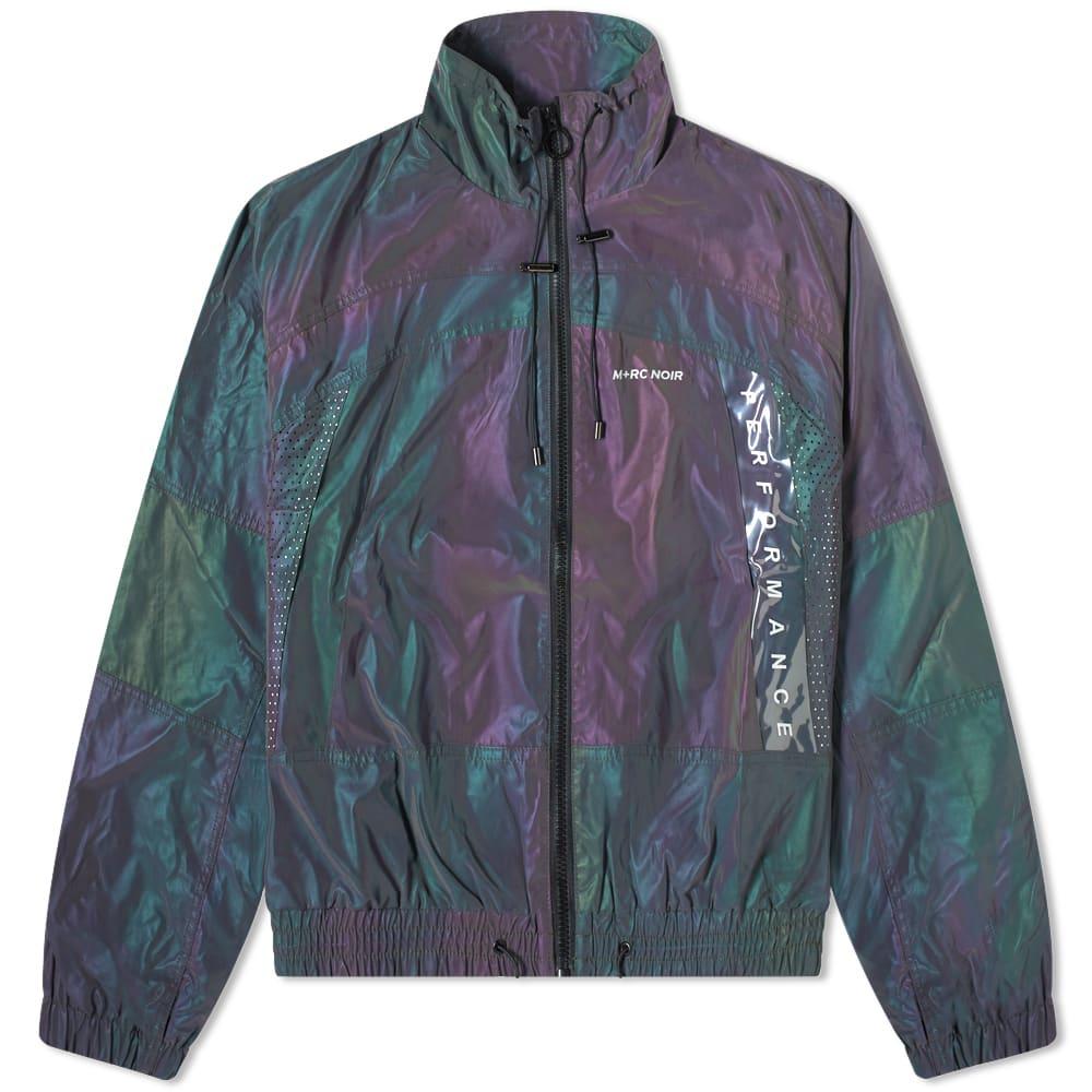 mrc noir rainbow reflective jacket rainbow  end