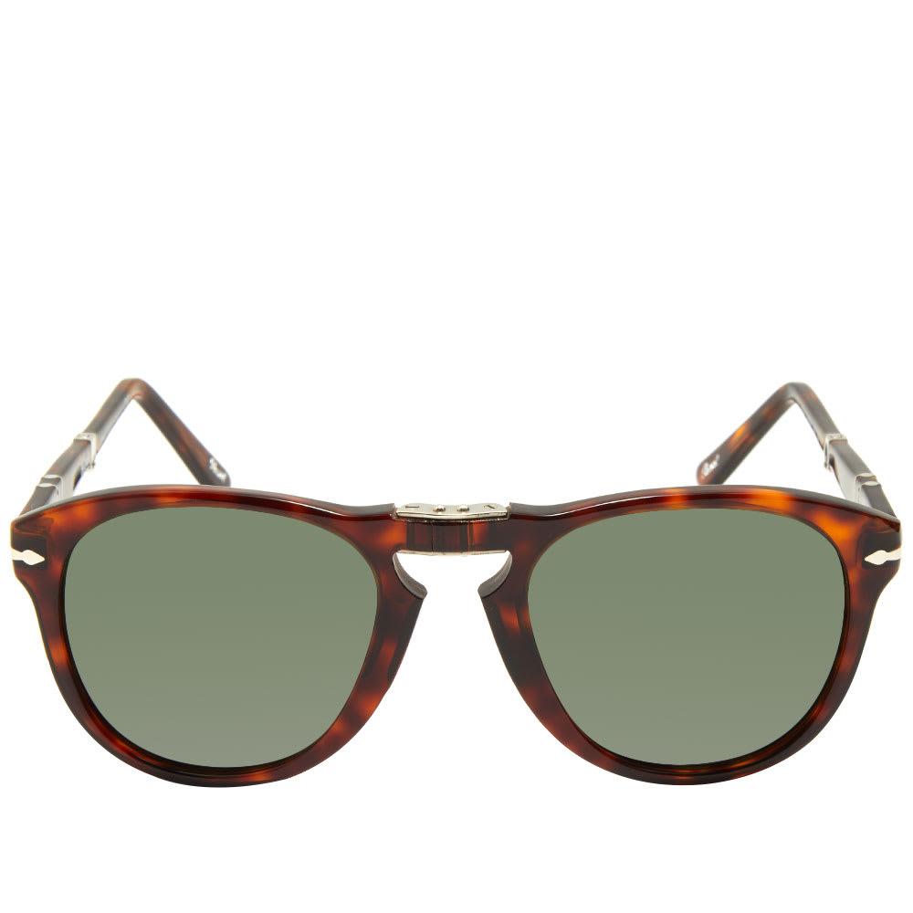 0f584d572e92 Persol 714 Aviator Sunglasses Havana & Crystal Green | END.