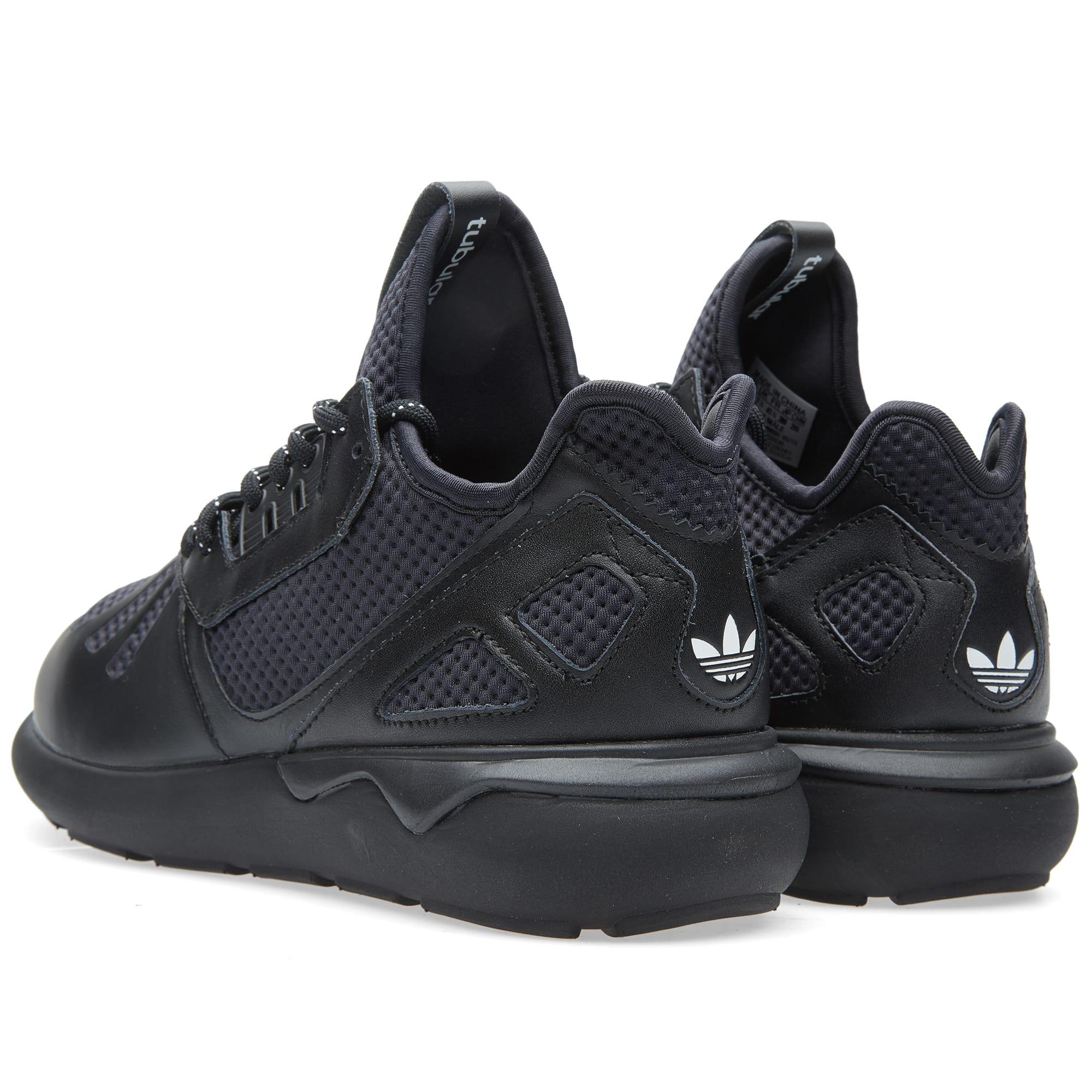 Confiar Amabilidad Adolescencia  Adidas Tubular Runner Core Black, Carbon & White | END.
