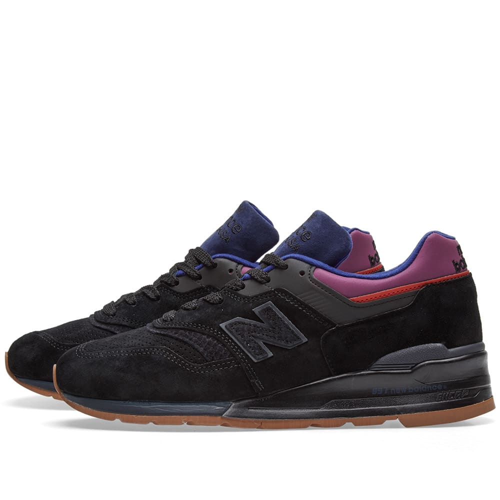 online store 9b2f7 53548 New Balance M997CSS  Black Magnet  - Made in the USA Black   Purple   END.