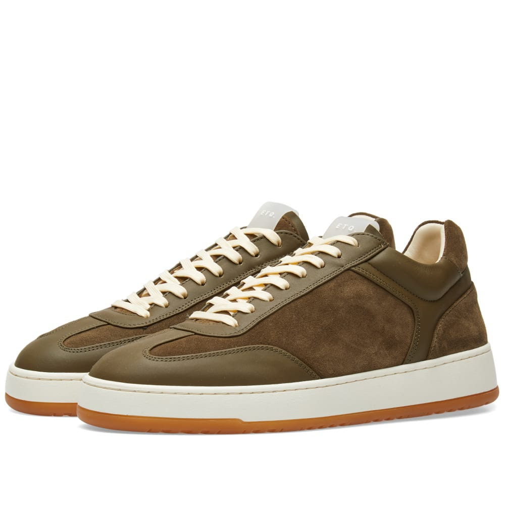 ETQ. LOW TOP 5 ARMY SNEAKER