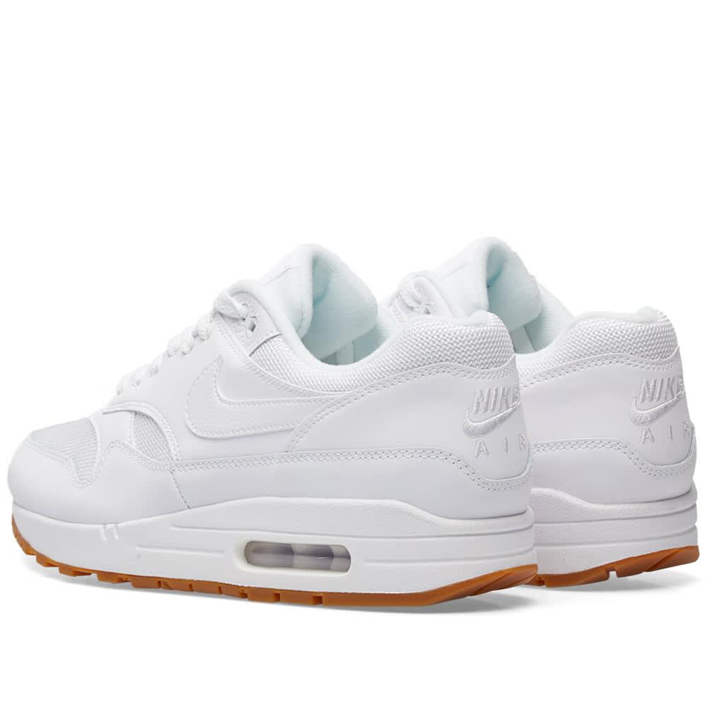 premium selection a43fa 9a651 Nike Air Max 1 White, Gum   Brown   END.