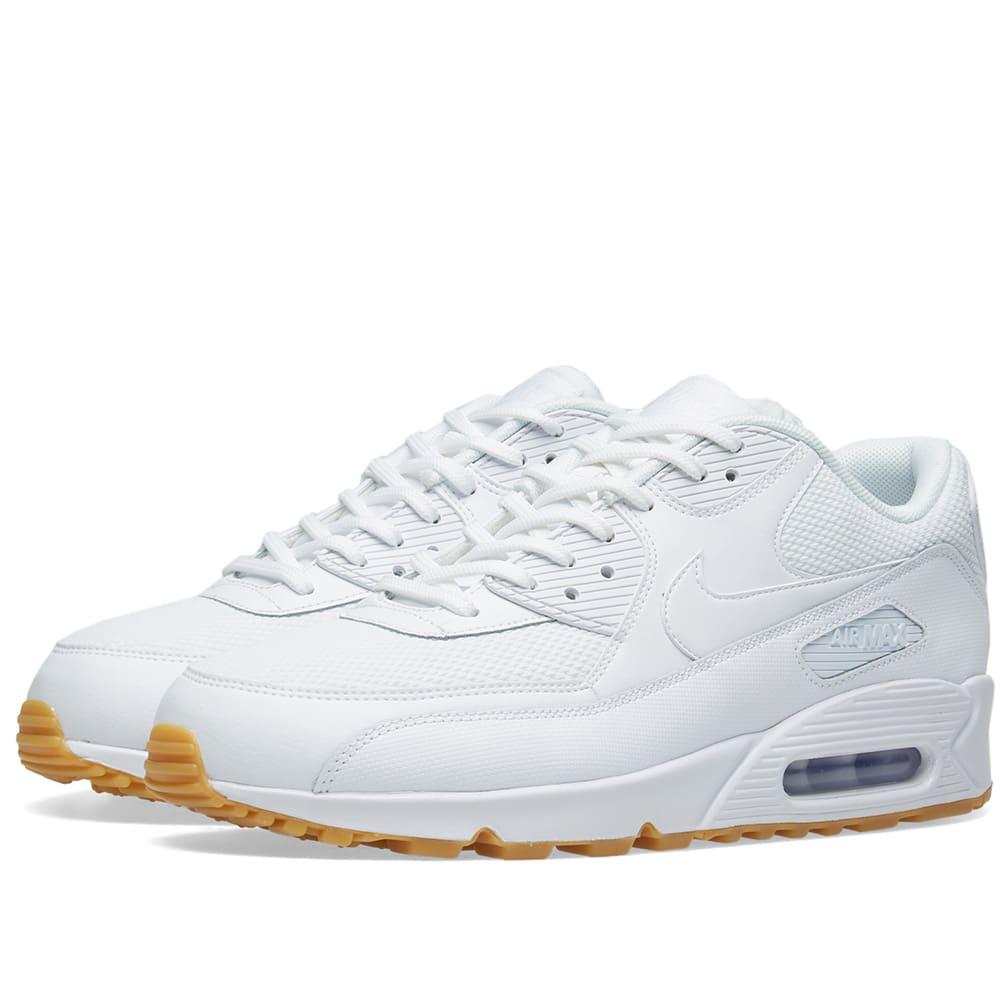 sale retailer ec0cb b4ff2 Nike Air Max 90 W White   Light Brown   END.