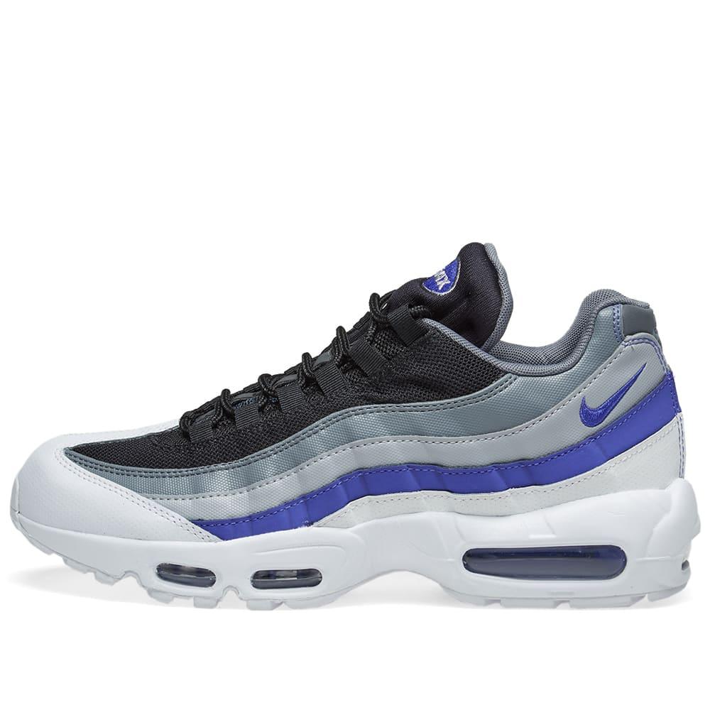 quality design b5983 c2033 Nike Air Max 95 Essential White, Violet, Grey   Black   END.