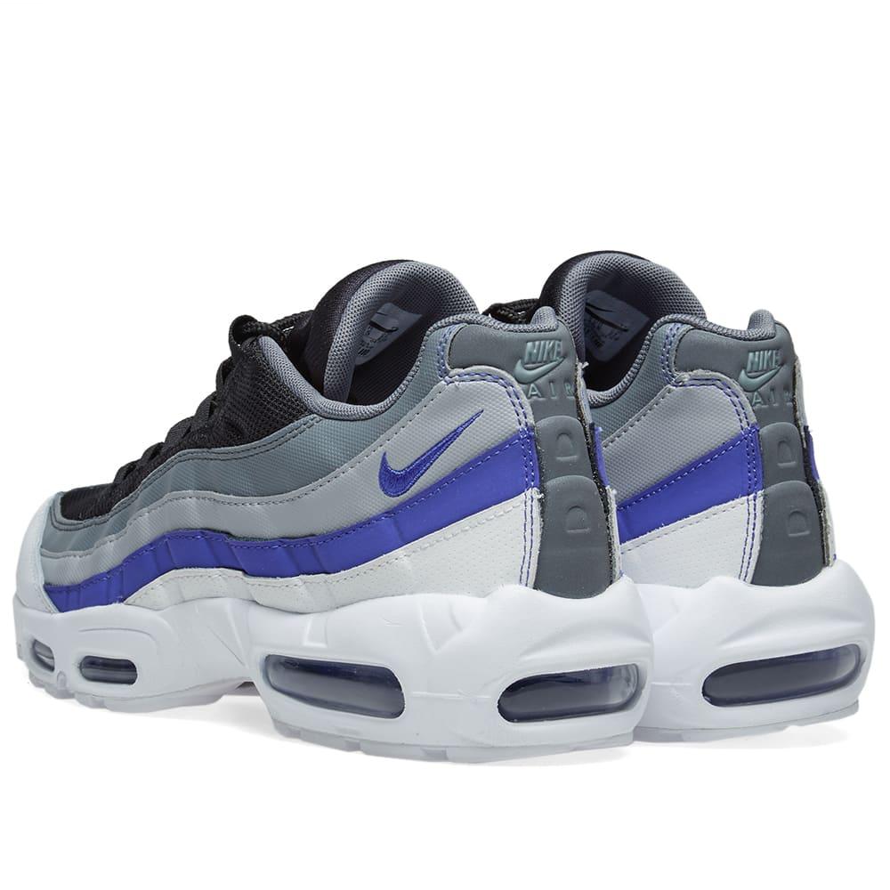 low priced e4409 6b660 Nike Air Max 95 Essential White, Violet, Grey & Black | END.