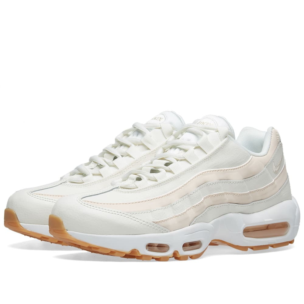 the latest 9955d 4ea4d Nike Air Max 95 W Sail, Guava Ice, Brown   White   END.