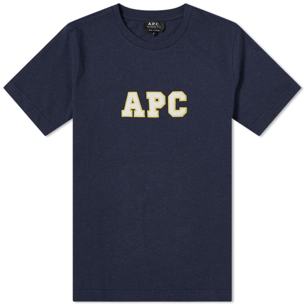 A.p.c. A.P.C. Gael Varsity Logo Tee