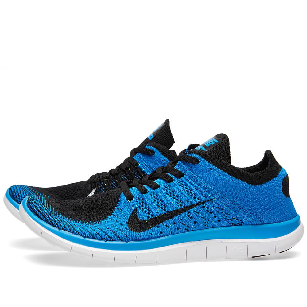 on sale 319be e1ac7 Nike Free 4.0 Flyknit Black   END.