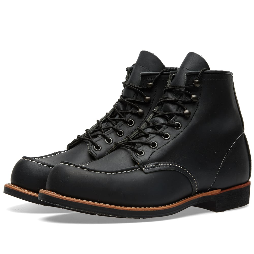 Red Wing 2964 Heritage Work Cooper Moc Toe Boot (Black Harness)