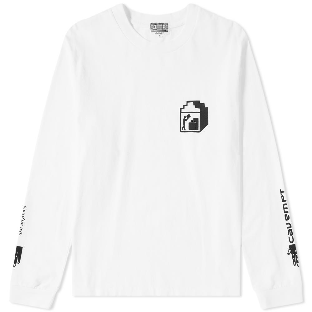 CAV EMPT Cav Empt Long Sleeve Pack Tee in White