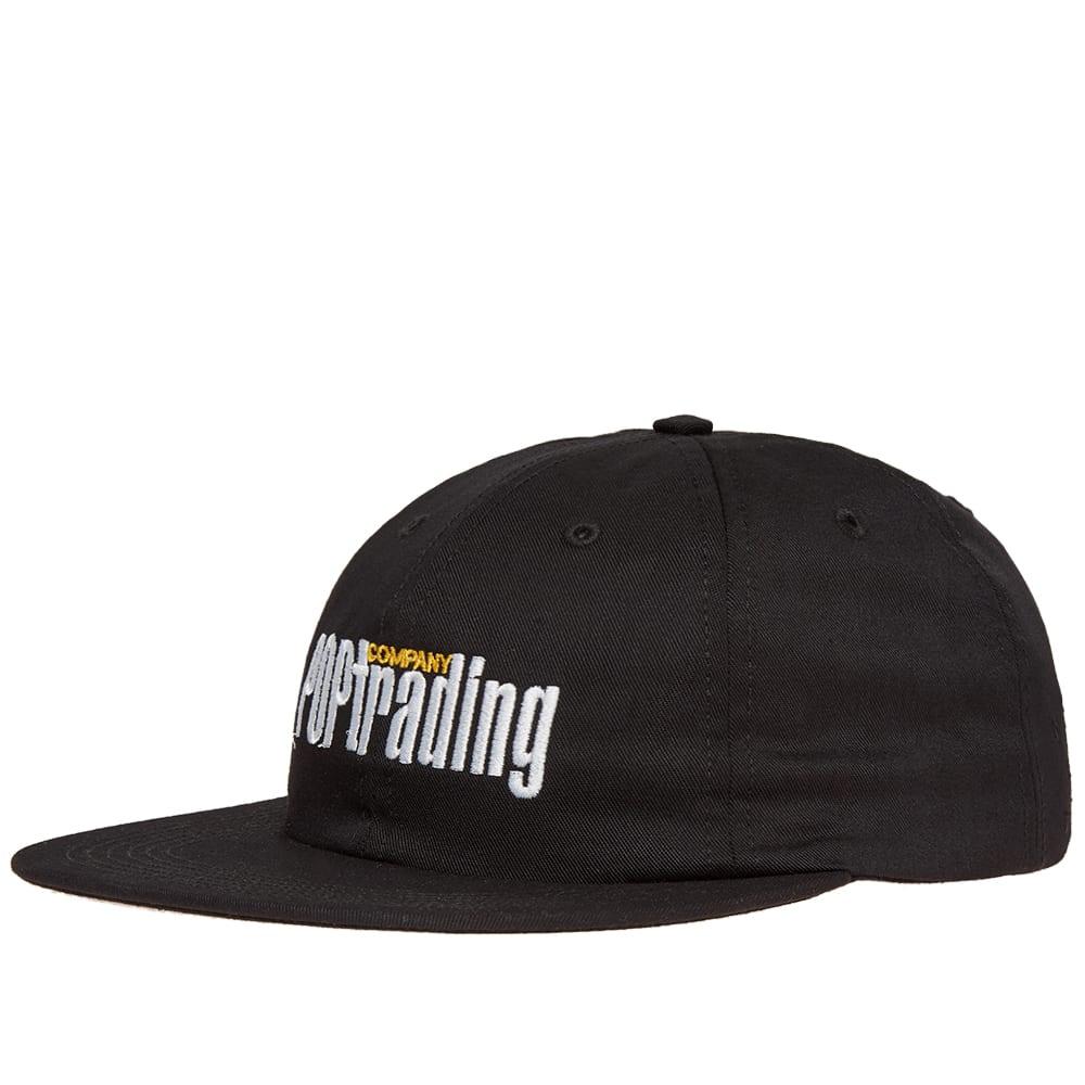 Pop Trading Company Homage Baseball Cap in Black