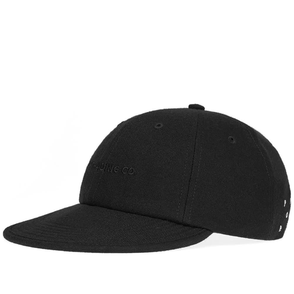 2b4c103e0f856 Pop Trading Company Wool Baseball Cap Black