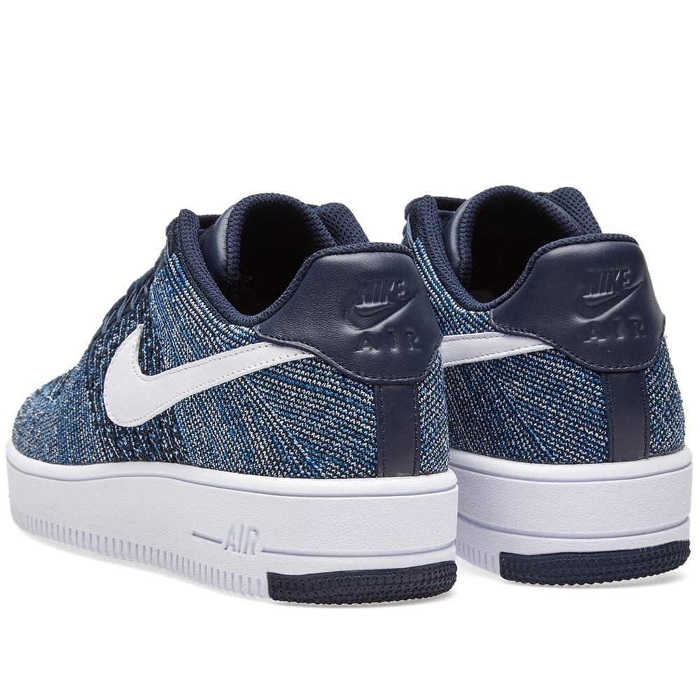 769709e3bc5cd Nike Air Force 1 Ultra Flyknit Low Obsidian