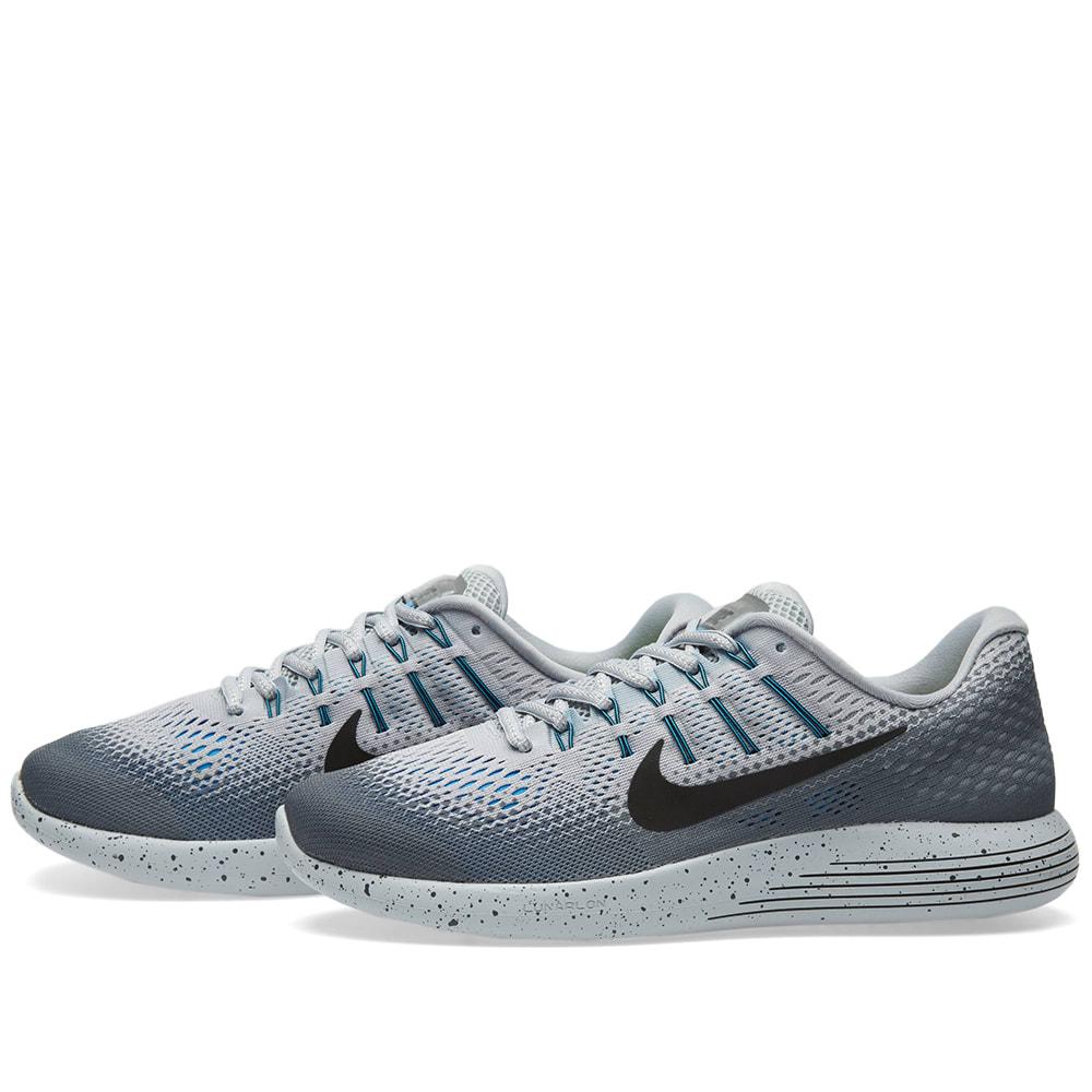 pretty nice 14caa b8f0c Nike Lunarglide 8 Shield Wolf Grey, Black   Cool Grey   END.